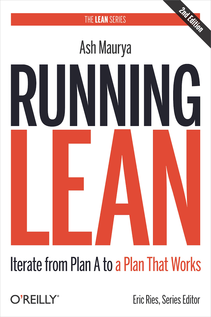 Books for Great Product Owners - Lean Product Management - Running Lean