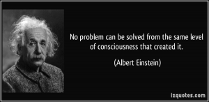 Einstein - Quote - Problem Solving - Coaching - Team Coaching - Agile Coaching - Scrum