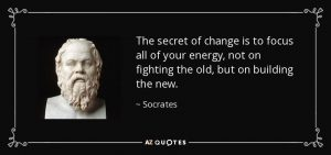 Socrates - The Secret of Change - Change Management - Solution Focus - Coaching - Agile Coaching - AKTIA Solutions