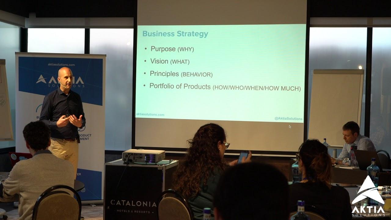 Estrategia de Producto - Taller Lean Product Management - AKTIA Solutions - Barcelona