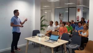 Michael Gradek - Formación Lean Product Management - AKTIA Solutions
